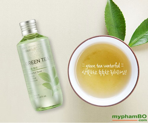Nuoc hoa hong Green Tea The Face Shop (2)
