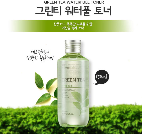 Nuoc hoa hong Green Tea The Face Shop (3)