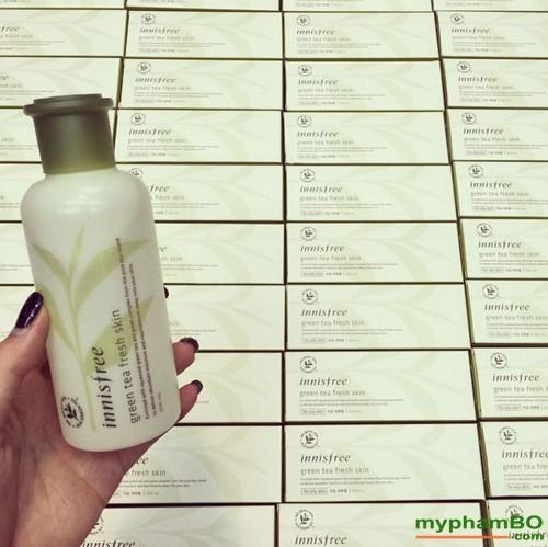 Nuoc hoa hong tra xanh green tea fresh skin (2)
