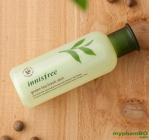 Nuoc hoa hong tra xanh green tea fresh skin (3)
