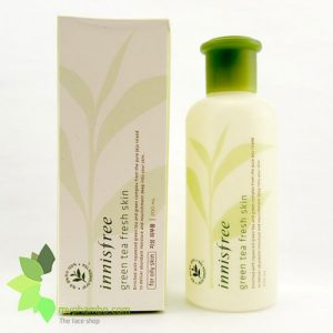 Nuoc hoa hong tra xanh green tea fresh skin (4)
