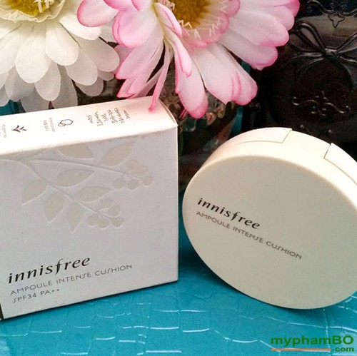 Phan nuoc Innisfree Ampoule Intense Cushion SPF34+ PA++ (2)