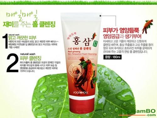 Sua rua mat hong sam Foodaholic Red Ginseng (3)