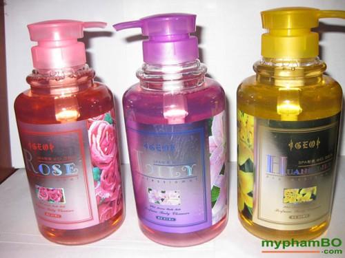 Sua tam GEO Spa Aroma Bath Milk 800ml Han Quoc (2)