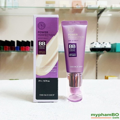 BB Cream Power Perfection 20ml 2015 The Face Shop (2)