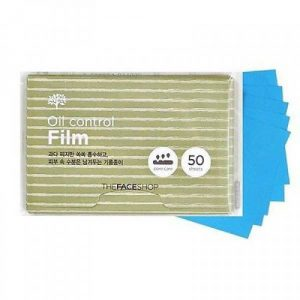 Giay tham dau The face shop oil control film (1)