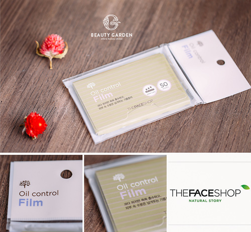 Giay tham dau The face shop oil control film (3)
