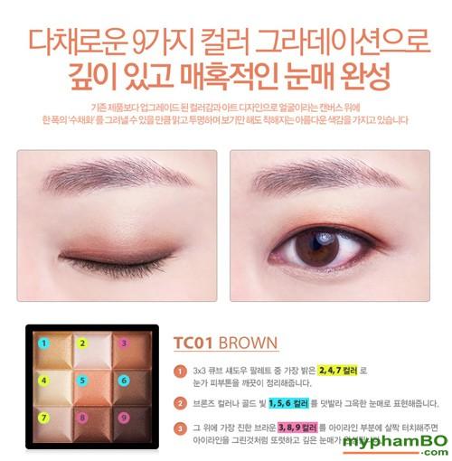 Phan mat 3x3 cube eyeshadow (3)