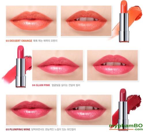 Son moi seatree art smooth kiss lipstick shine
