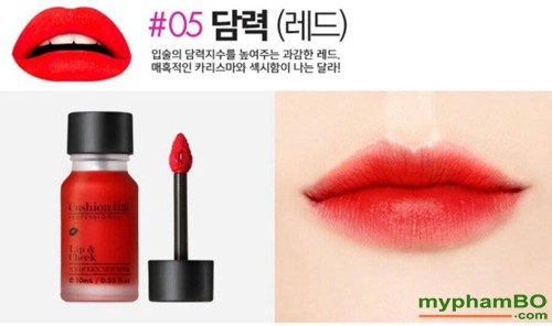 Son nuoc McQueen Cushion Tint Lip and Cheek (7)