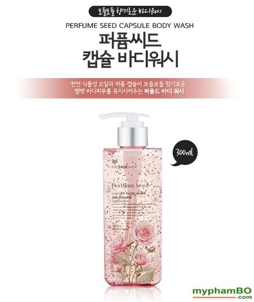 Sua Tam Nuoc Hoa Perfume Seed Capsule Body Wash