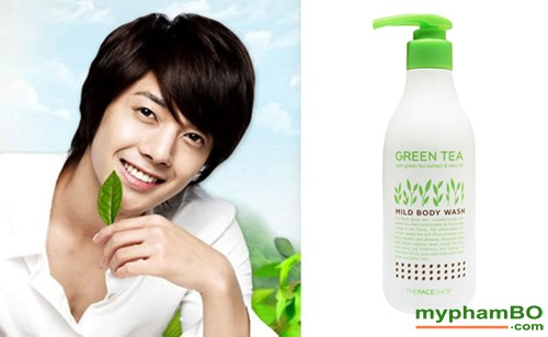 Sua Tam Tra Xanh Green Tea Mild Body Wash (5)