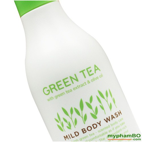 Sua Tam Tra Xanh Green Tea Mild Body Wash
