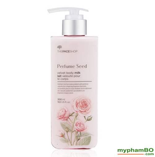 Sua duong the Perfume Seed Velvet Body Milk (2)