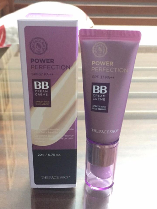 kem nen BB Cream Power Perfection 20ml Moi The Face Shop (1)