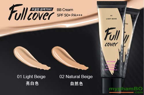 Kem Nen Full Cover BB Cream SPF50 PA(5)