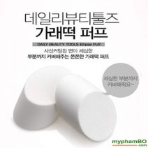 Mut Danh Kem Nen TheFaceShop Daily Beauty Tools Ellipse Sponge (5)