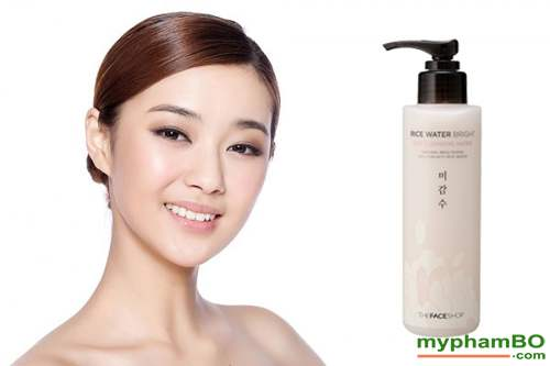 Nuoc tay trang gao rice water bright rice cleansing water TheFaceShop (6)