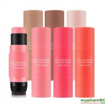 Phan ma hong (thoi) Missha Soft Blending Stick Blusher (1)