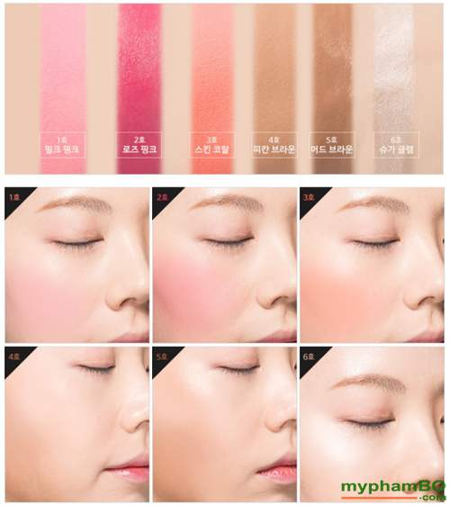 Phan ma hong (thoi) Missha Soft Blending Stick Blusher (3)