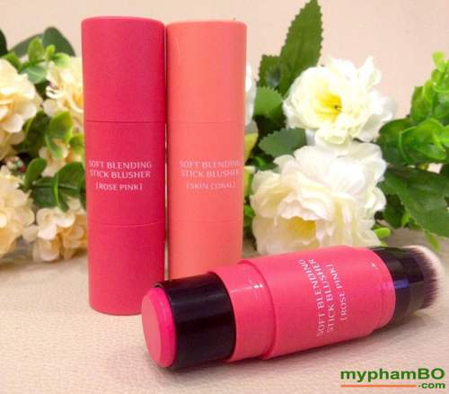 Phan ma hong (thoi) Missha Soft Blending Stick Blusher (5)