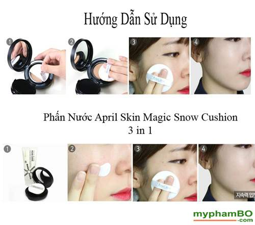 Phan nuoc april skin magic snow cushion (2)