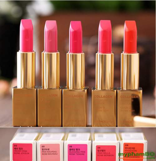 Son collagen ampoule lipstick The Face Shop (1)