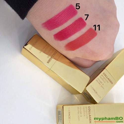 Son collagen ampoule lipstick The Face Shop (4)