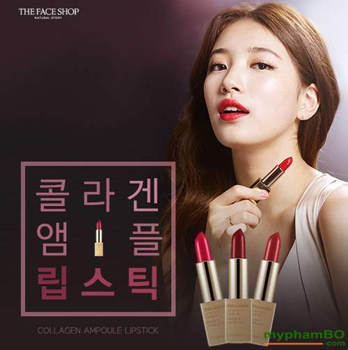 Son collagen ampoule lipstick The Face Shop (5)