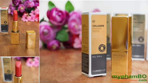 Son collagen ampoule lipstick The Face Shop (8)