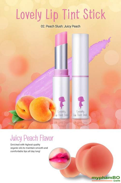 Son duong Yadah Lovely Lip Tint Stick (1)