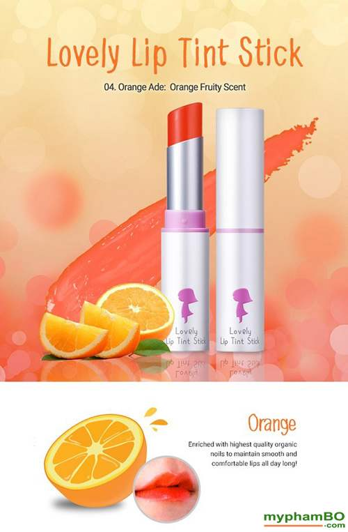 Son duong Yadah Lovely Lip Tint Stick (5)