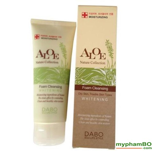Sua rua mat lo hoi DABO Aloe Nature Collection (1)