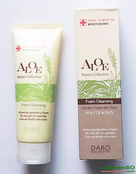 Sua rua mat lo hoi DABO Aloe Nature Collection (2)