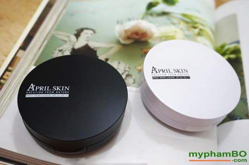 phan nuoc april skin magic snow cushion white cho da kho (4)