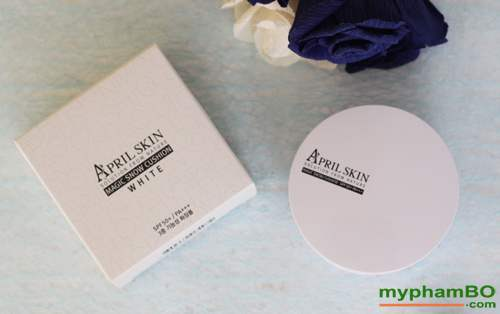 phan nuoc april skin magic snow cushion white cho da kho (5)