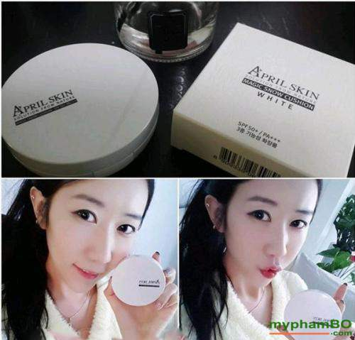 phan nuoc april skin magic snow cushion white cho da kho (6)