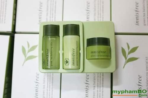 Bo Duong Tra Xanh Green Tea Balancing Special Kit Innisfree (1)