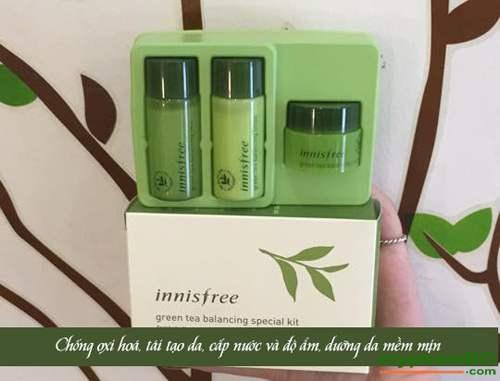 Bo Duong Tra Xanh Green Tea Balancing Special Kit Innisfree (2)