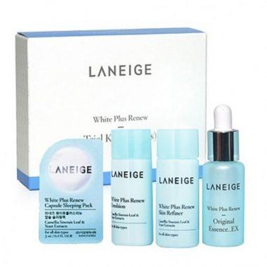 Bo duong trang da Laneige White Plus Renew Trial Kit (4Items) (1)