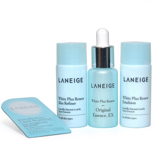Bo duong trang da Laneige White Plus Renew Trial Kit (4Items) (2)