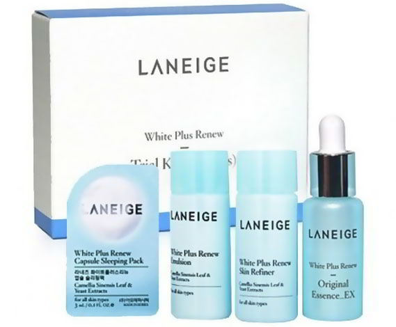 Bo duong trang da Laneige White Plus Renew Trial Kit (4Items) (3)
