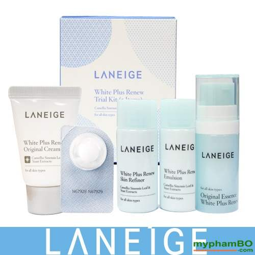 Bo duong trang da Laneige White Plus Renew Trial Kit (5Items) (2)