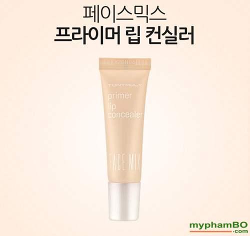 Che khuyet diem moi Face Mix Primer Lip Concealer (3)