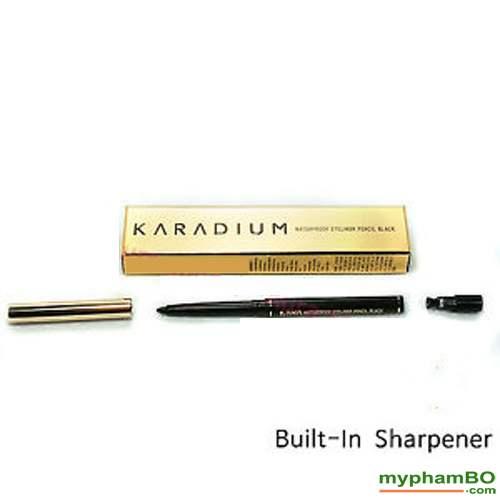 Chi Ke Mat Chong Tham Karadium Waterproof Eyeliner Pencil Black