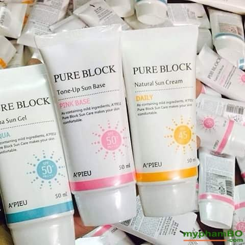 Kem chng nng a'pieu pure block natural sun cream (1)