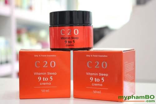 Kem duong c20 vitamin sleep 9 to 5 crema (4)