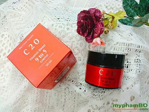 Kem duong c20 vitamin sleep 9 to 5 crema (6)