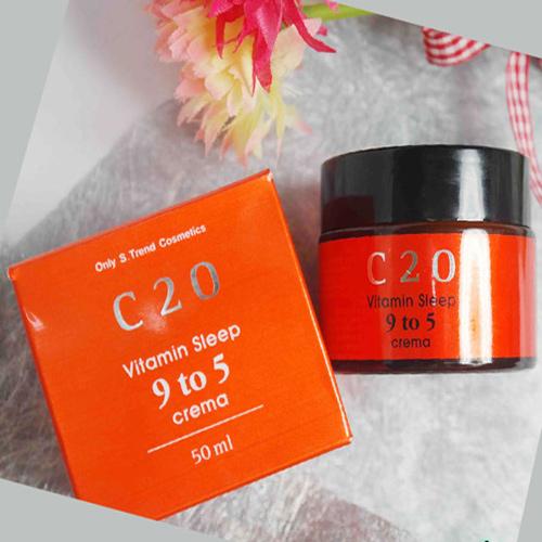 Kem duong c20 vitamin sleep 9 to 5 crema