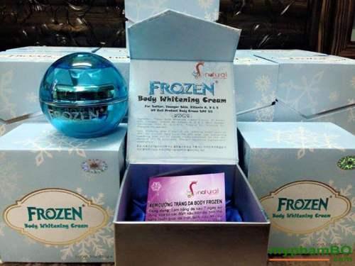 Kem duong da body cot lanh frozen (1)
